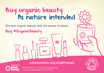 organic beauty, green beauty, soil association, natural