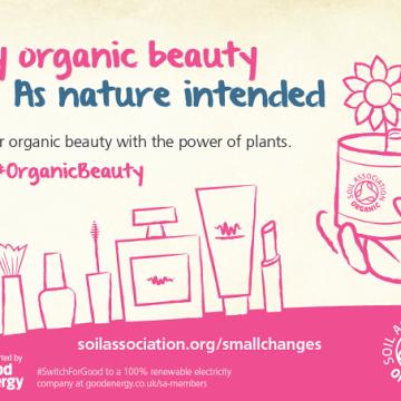 organic beauty, green beauty, soil association, natural
