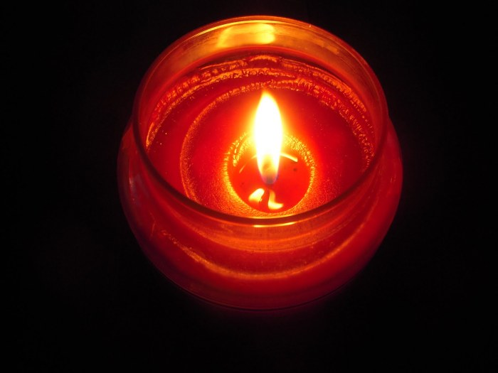 A candle burns for only so long, but in the moment it does, it brings us warmth.